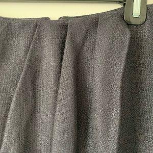 Elie Tahari Skirts - Elie Tahari Navy Lace Hem Skirt Size 12